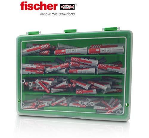 145tlg Fischer Dübel DUOPOWER Dübelsortiment Koffer 5mm 6mm 8mm 10mm