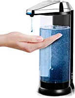 Secura 17oz / 500ml Premium Touchless Battery Operated Electric Automatic Soap Dispenser w/Adjustable Soap Dispensing...