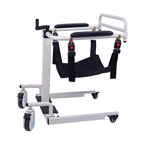 AGY Multifunktionaler Hebebühne zum Heben von Rollstühlen, Höhen- Und Breitenverstellbar, Bequem zur Aufbewahrung