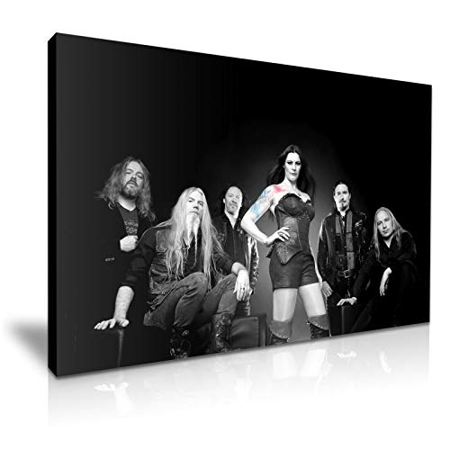 Metalen Band Nightwish Poster Foto Print Canvas Muur Kunst 76x50cm