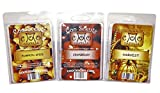 3 Pack Soy Blend Wickless Candle Bar Wax Melts - Autumn Spice Scents - Fall or Winter