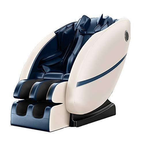 Wheel-hy Relax Massagesessel, Zero Gravity für Ganzkörper, mit Heizung und Fußrollen