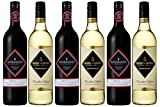The Rosemount Wine Lovers Duo Selection - Diamond Shiraz & Founders Chardonnay - 6 Bottles (