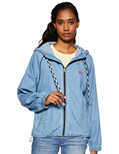 Levi's Women's Jacket (81978-0001_Blue_S)