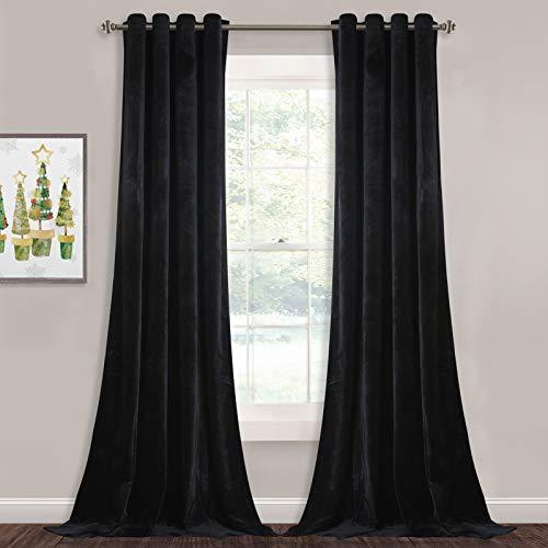 StangH Blackout Velvet Curtain P...