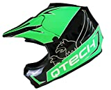 Casque de Moto pour Enfant Motocross Cross Off-Road BMX Cycle Noir Mat ATV Quad -...