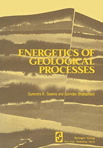Energetics of Geological Processes: Hans Ramberg on his 60th birthday