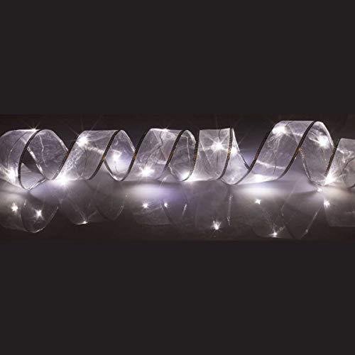 Organza Lichterkette mit 15 LEDs