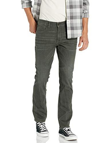 John Varvatos Star USA Men's Bowery Slim Straight FIT Jean, Kalamata, 32