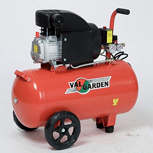 Compressore Aria 50 L Valgaden 2 Hp Coassiale Pm 50 191