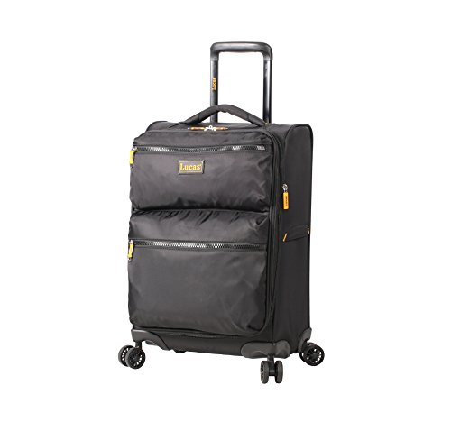 Lucas Ultra Lightweight Carry On - Softside 20 Inch Expandable Luggage - Small...