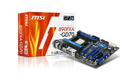 MSI AM3 USB 3.0 + SATA 6Gb/s AMD 890FX Chipset Motherboard 890FXA-GD70