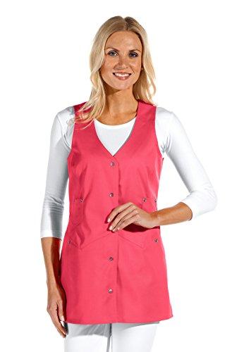 clinicfashion 10112071 Trägerkleid/Kasack ohne Arm für Damen, dunkelrosa, Mischgewebe, Größe 44