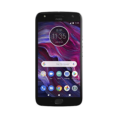 Motorola Moto X4 Factory Unlocked Phone - 32GB - 5.2' - Super Black - PA8S0006US