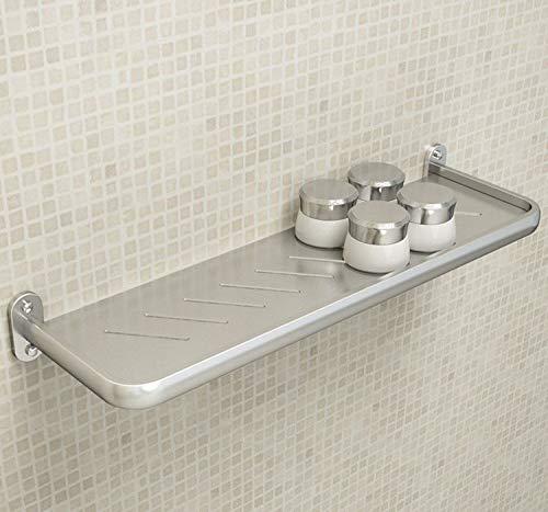 WSAD l'espace De L'Aluminium Au Mur - Toilettes, Toilettes, Lavage, Plateau des Cosmétiques, Tablette sans Trou, Couche Unique Miroir Première Tablette,Monocouche De Mesure