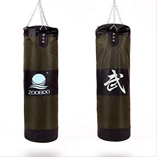 QWASZ Fitness Boksen Zandzak Verdikte Canvas Bokszak Sporttraining Lege bokszakken Workout Gym Home Fitness Equipmen80cm