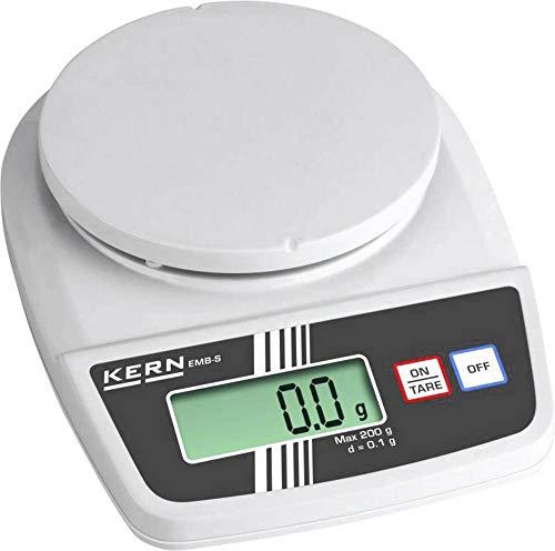 KERN EMB 2000-0S EMB 2000-0S weegschaal (max.) 2 kg resolutie 1 g batterij wit, grijs, 1 stuk