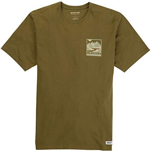 Burton Men's Mitler Short Sleeve T-Shirt Dark Slate