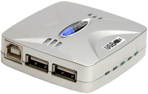 DYNEX USB 1.1 4-Port Hub with Power Adapter