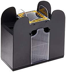 top rated Playing card shuffler, automatic battery-powered 6-deck machine … 2021