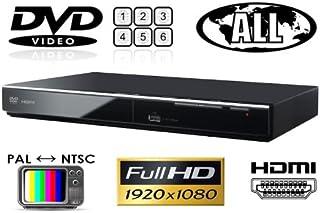 パナソニック Panasonic DVD-S700 リージョンフリーDVDプレーヤー(PAL/NTSC対応) 全世界のDVDが視聴可能 【保証書/HDMIケーブル/変換プラグ/世界のリージョンコード&映像方式ガイド)付属】 プレミアム海外仕様