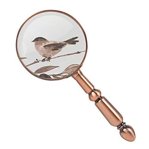 Lupa de Mano 20x HD Lente para la medición de la Escala Identificación Wenwan Cilindro de la joyería Lupa Identificación de la joyería Relojes DIY Manualidades Tallado y reparación Lupa