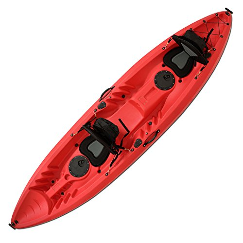 F2 AXXIS Kayak Family RED ~ KAJAK FAMILIENKAJAK KANU PADDELBOOT 2 Personen