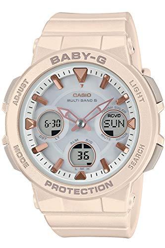 [カシオ] 腕時計 ベビージー 電波ソーラー BGA-2510-4AJF レディース ベージュ
