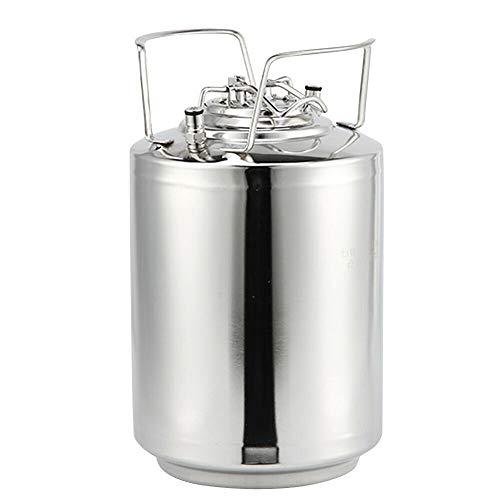 Gärbehälter - Gärkeller Fermenter - Fermentierkessel, Maischekessel,Hygienisch: 304 Edelstahl (10L)