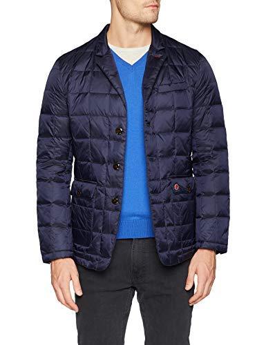 El Ganso Blazer Acolchada Nylon Abrigo, Azul (Azul Marino Único), XX-Large (Tamaño del Fabricante:XXL) para Hombre