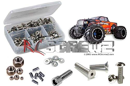 RCScrewZ RedCat Racing 1/5 Scale Rampage MT V3  Stainless Steel Screw Kit, Complete Replacement for RC Car Rusted and Stripped Screws, Race Quality Upgrade, Assembled in USA. rcr043