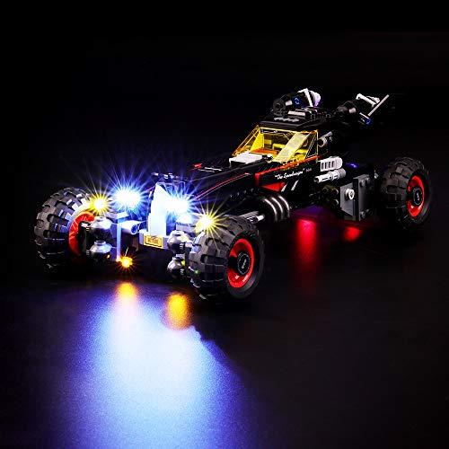 BRIKSMAX Kit de Iluminación Led para Lego Batmóvil de la película de Batman, Compatible con Ladrillos de Construcción Lego Modelo 70905, Juego de Legos no Incluido