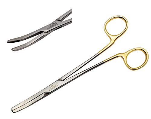 Dental Crown Gripper Temporary Crown Remover Large Curved Forceps Clamps