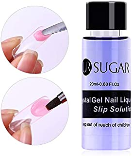 UR SUGAR 1 Bottle 20ml Poly UV Gel Soak Off Nail Liquid Slip Solution Acrylic Builder Nail Gel Extended