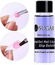 UR SUGAR 1 Bottle 20ml Poly UV Gel Soak Off Nail Liquid Slip Solution Acrylic Builder Nail Gel Extended