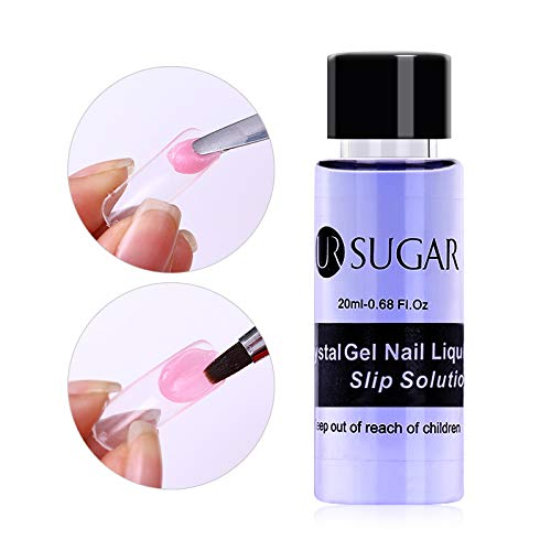 CoulorButtons 1 Botella 20ml UR SUGAR Gel Polivinílico UV Soak Off Nail Liquid Slip...