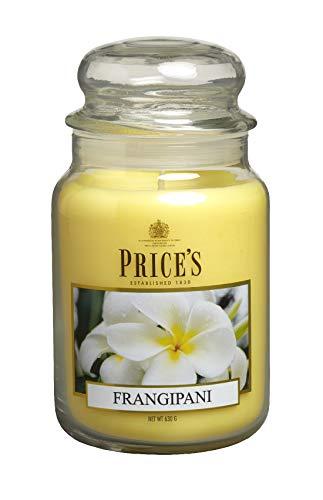 Price?s Candles Duftkerze im Glas/Frangipani/Brenndauer: 110-150 Stunden