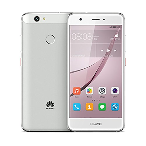 Huawei Nova Smartphone, Marchio Vodafone, 32 GB, Argento