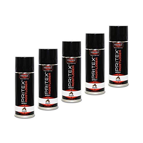 Rostlöser Spray 5 x 400ml MoS2 Rostlöserspray Kriechöl Hochwertiger Schmiermittel