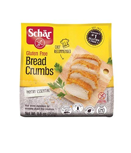 Schar Gluten Free Bread Crumbs - Net Wt. 8.8 oz.-SET OF 2