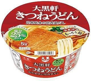 大黒食品 大黒軒 きつねうどん(減塩) 86g 24食(2ケース)