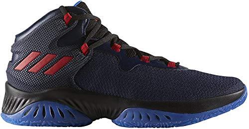 adidas Explosive Bounce, Zapatillas de Baloncesto Unisex Adulto, (Maruni/Escarl/Negbas), 43 1/3 EU