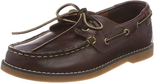 Timberland Unisex-Kinder Seabury Classic 2-Eye' Bootschuhe, Braun (Dark Brown 8a2), 38 EU