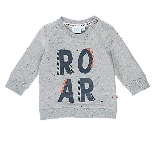 Feetje Roar Stay Wild Sweat-Shirt pour garçon - Gris - 6 Mois