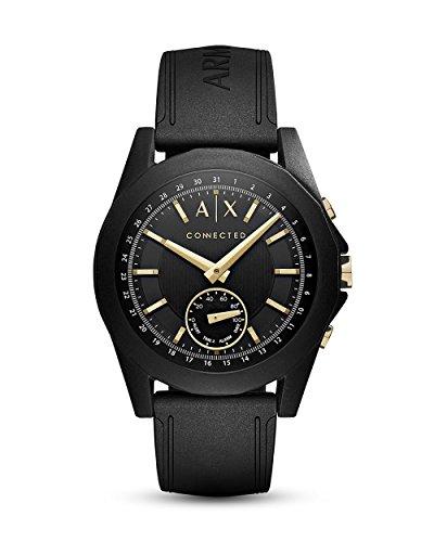 Armani Exchange Smartwatch Hybrid Automatico Uomo con Cinturino in Silicone...