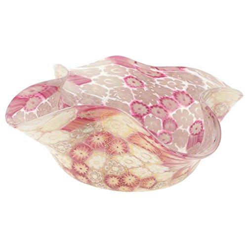 GlassOfVenice Bol décoratif de Millefiori - Rose tendre