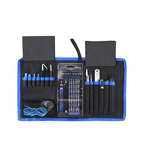 Elektronische reparatie toolkit precisie schroevendraaier set voor mobiele telefoon iPad Watch Tablet PC MacBook camera 60 in 1 kleine schroevendraaierkit met etui
