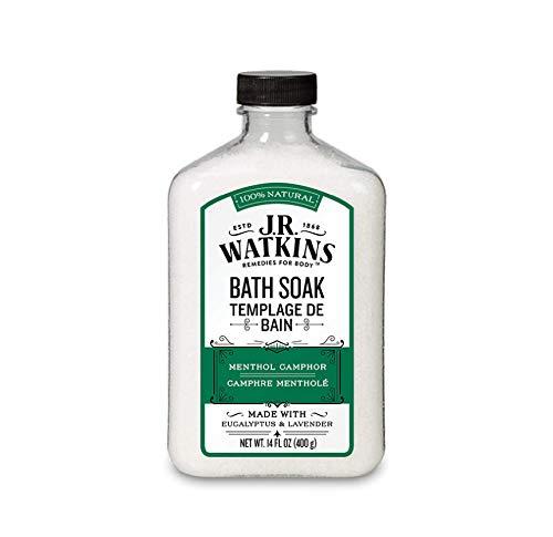 J.R. Watkins Menthol Canfora bagno ammollo 14 once