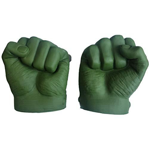 Borstu Hulk Guanti Cosplay Marvel Avengers Pugni Gamma Gioco di Ruolo Costume PVC Giocattoli per Bambini Adulto Halloween Natale 17 * 15cm