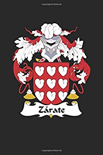 Zarate: Zarate Coat of Arms and Family Crest Notebook Journal (6 x 9 - 100 pages)